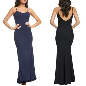 Jodi Crepe Evening Dress DRESS THE POPULATION